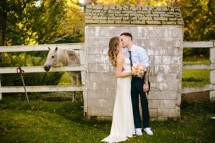 Inn On The Horse Farm Wedding