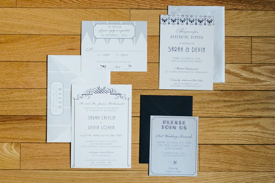 Paper Moss Invitation