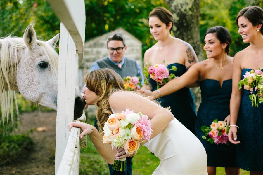Creative Horse Farm Wedding Photography