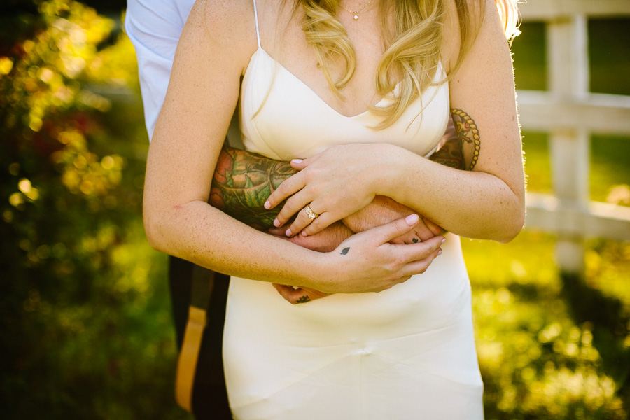 Tattooed New England Wedding