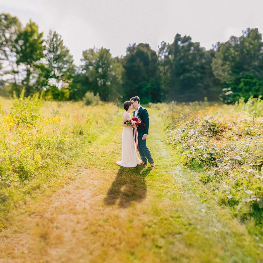 Creative Fruitlands Museum Wedding
