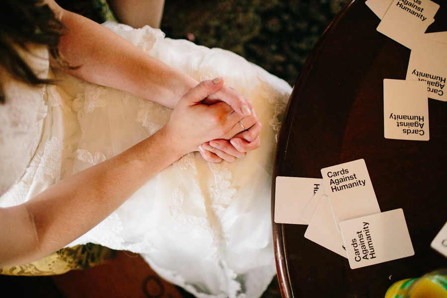 Cards Against Humanity Wedding