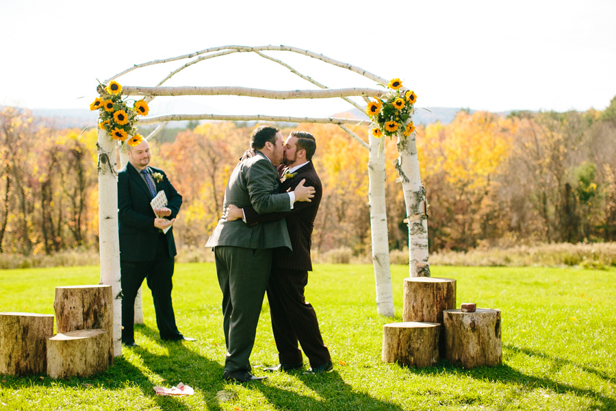 DIY New Hampshire Wedding Ceremony