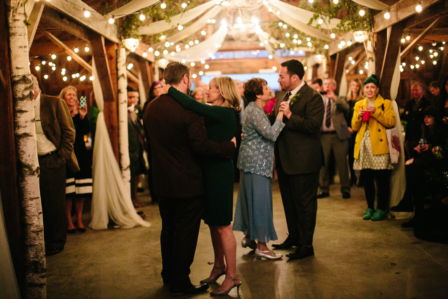 DIY New Hampshire Wedding Reception