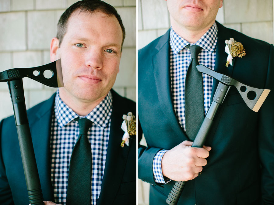 Punk Rock Cape Cod Wedding