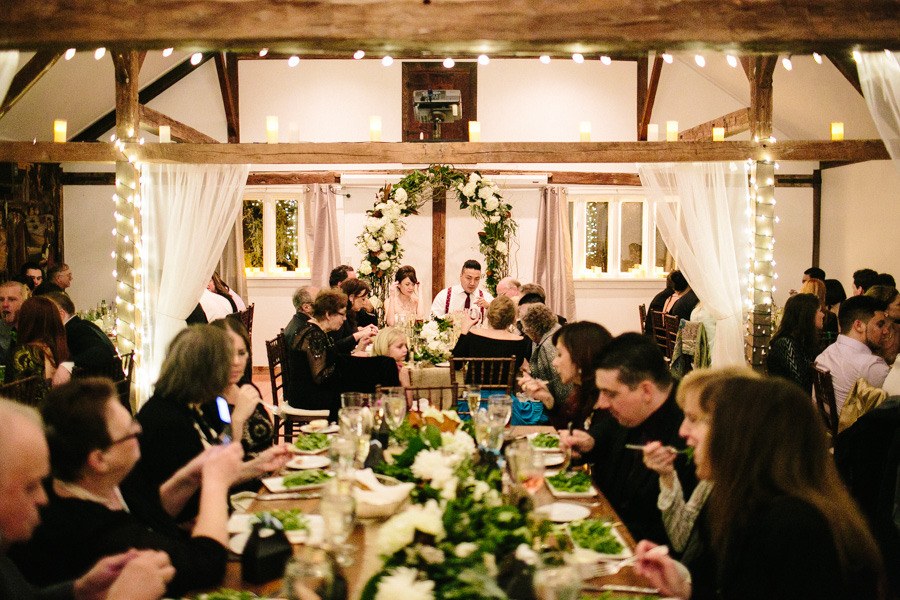 Farm Wedding Reception