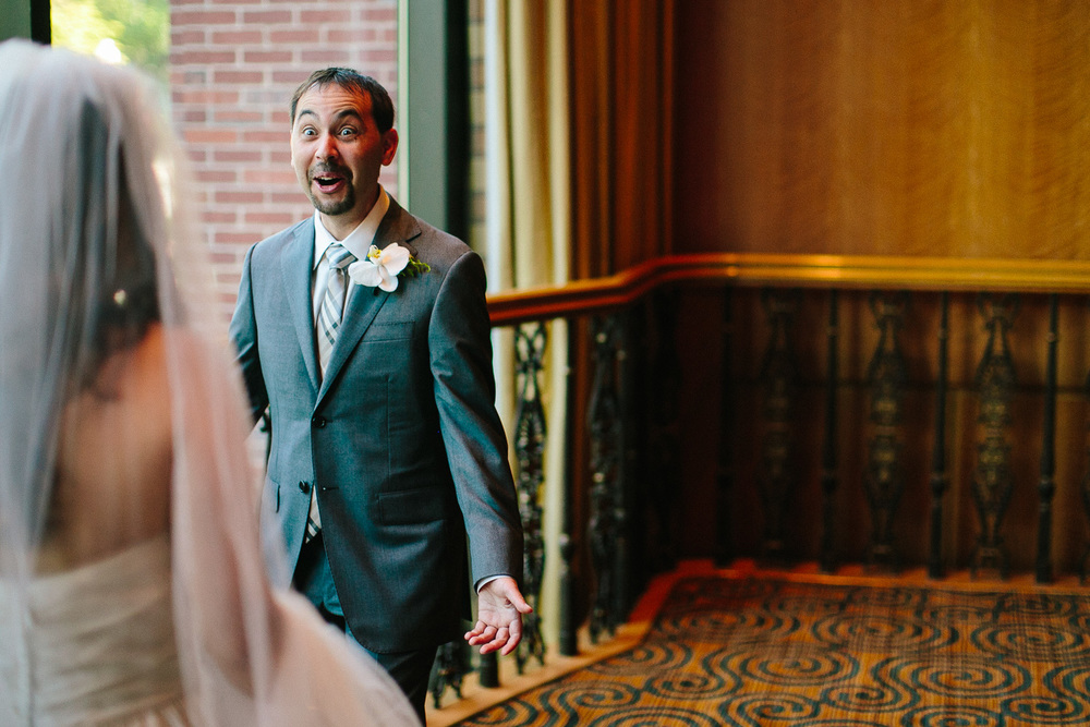 Priceless Groom Reaction