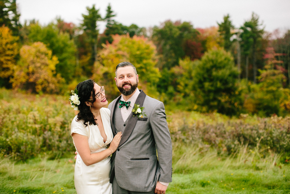 Stylish New England Wedding
