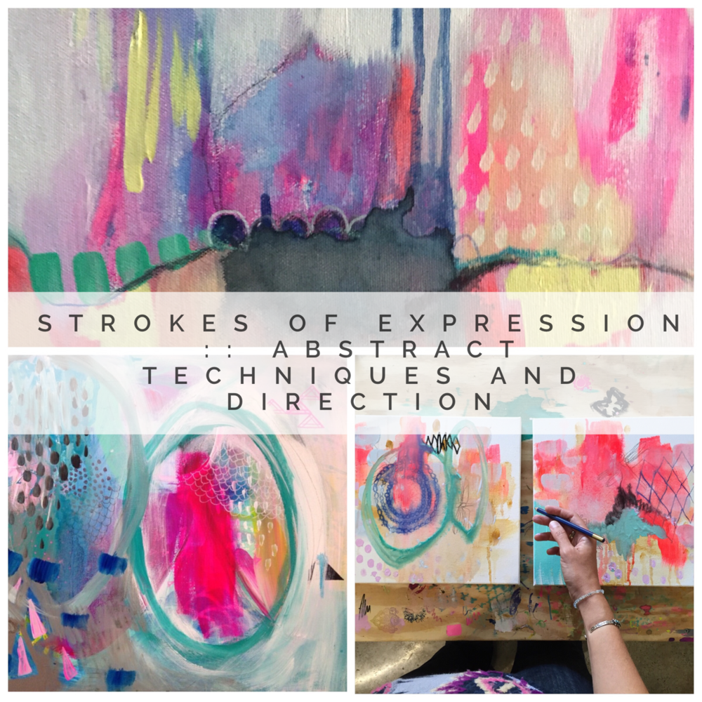 $39 Abstract Painting Workshop