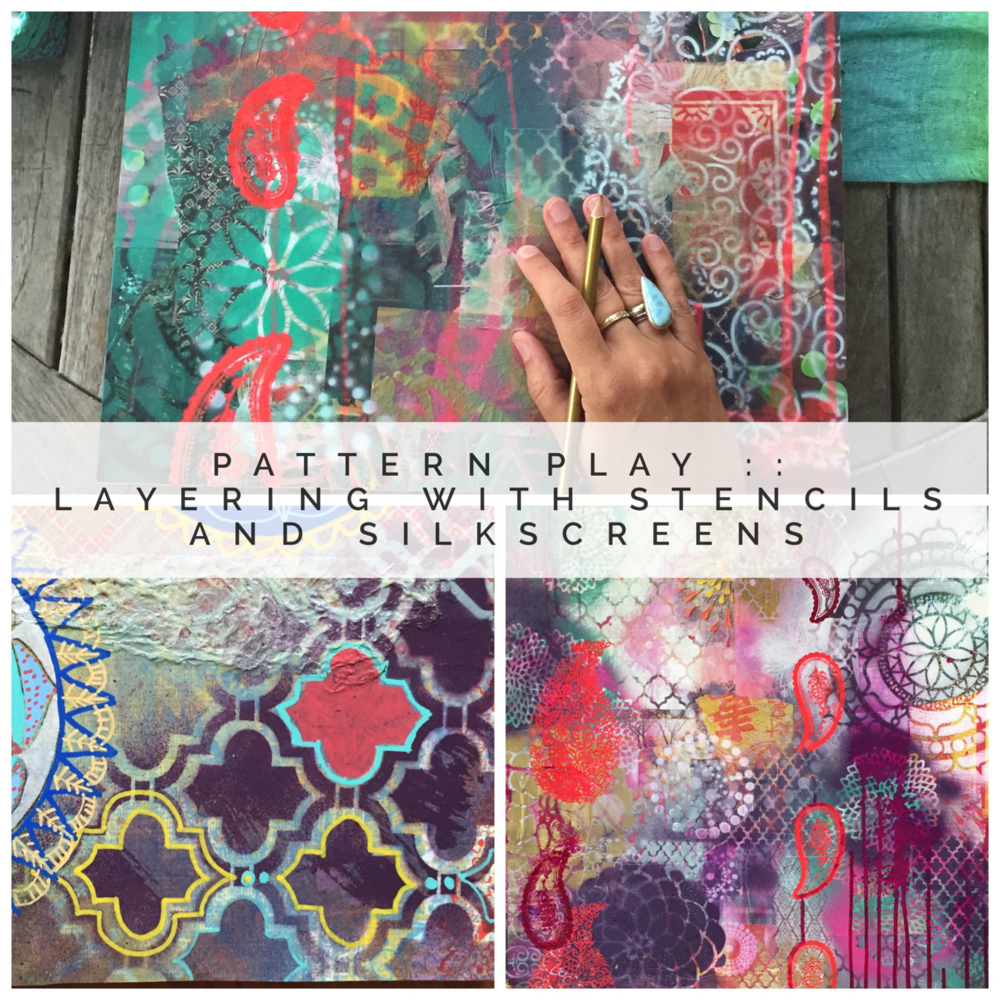 $39 Pattern Play: Painting Workshop