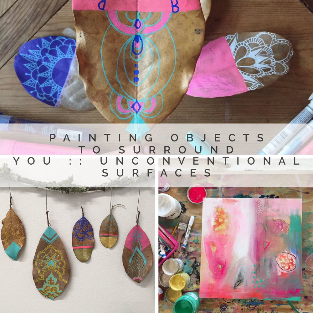 $39 Unconventional Surfaces: Painting Workshop