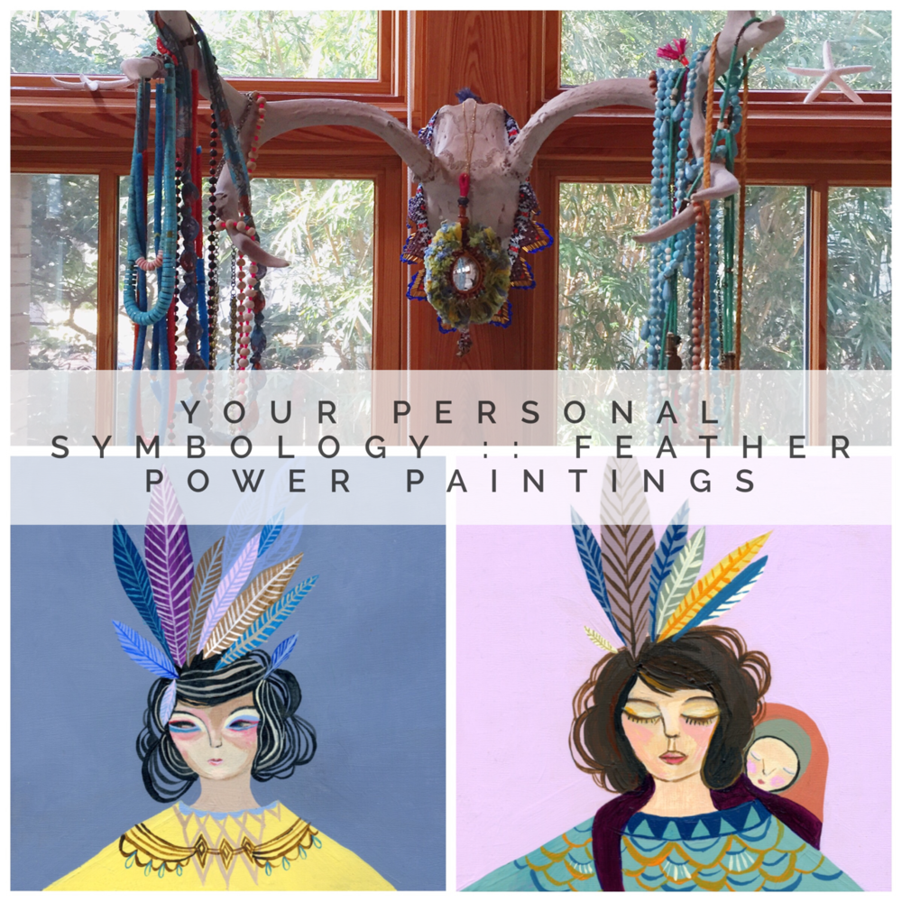 $39 Feather Power Girls: Painting Workshop