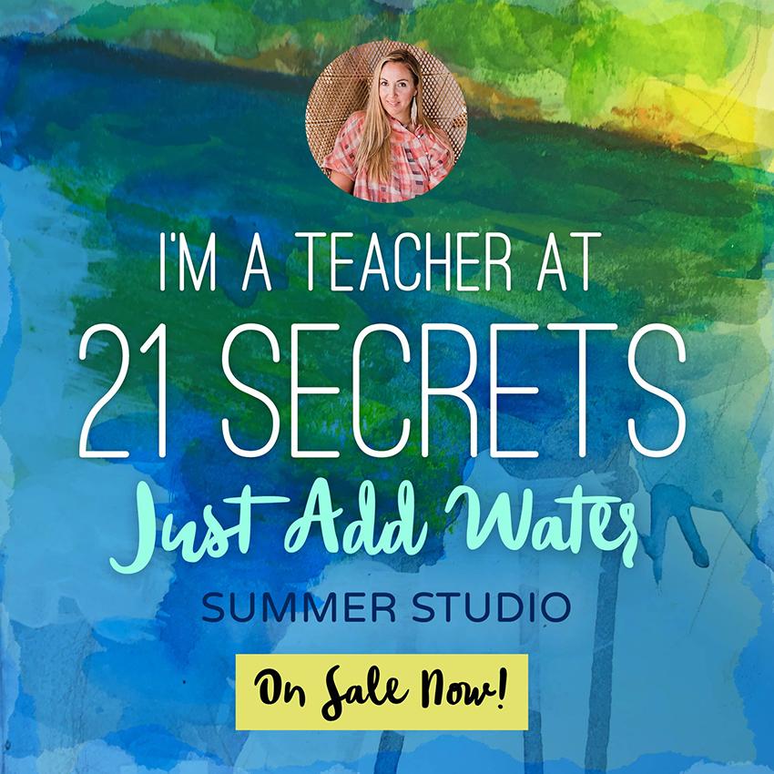 Watercolor Painting E-Course Series & E-Book