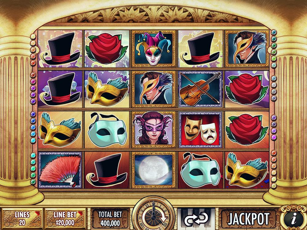 Slot Game Screen
