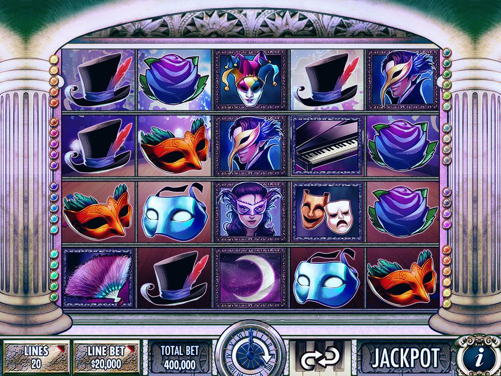 Bonus Game Screen