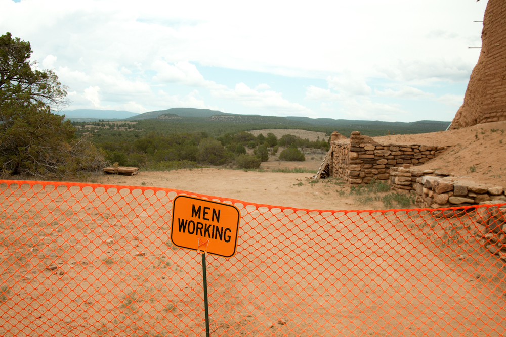 Men Working, hard. [July, 2013; Pecos, NM]