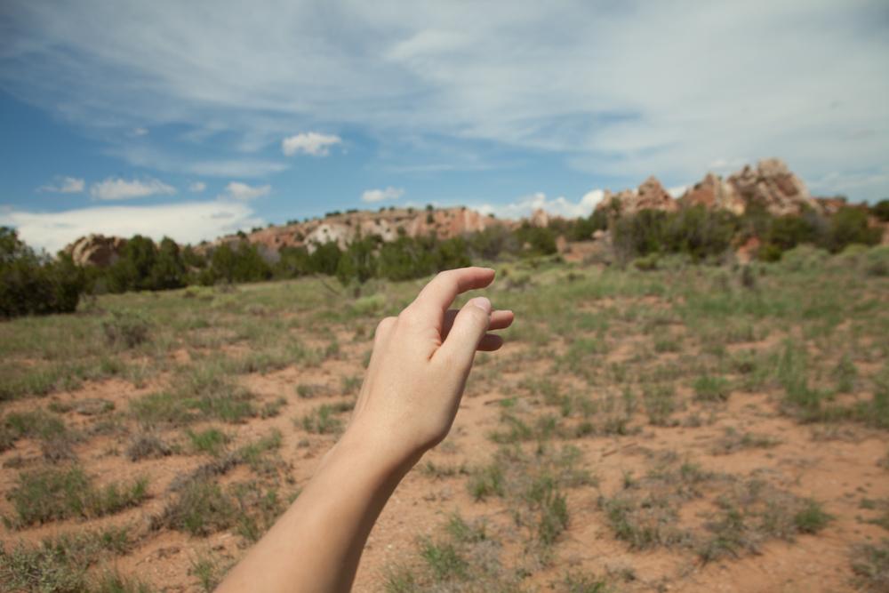 [July, 2013; Little Garden of the Gods, NM]