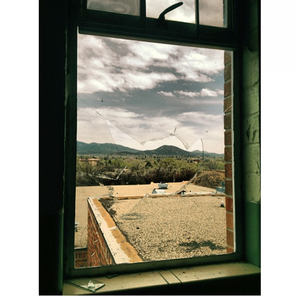 Abandoned views [April, 2013, Santa Fe, NM]