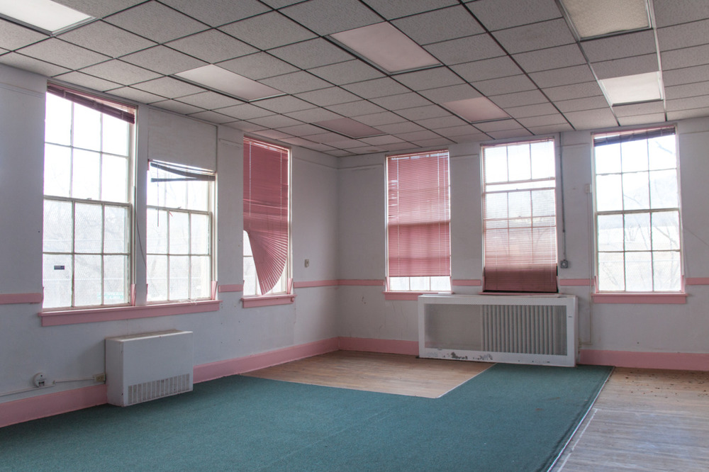 The Pink Room, Manderfield Elementary School (now vacant) [March, 2013; Santa Fe, NM]