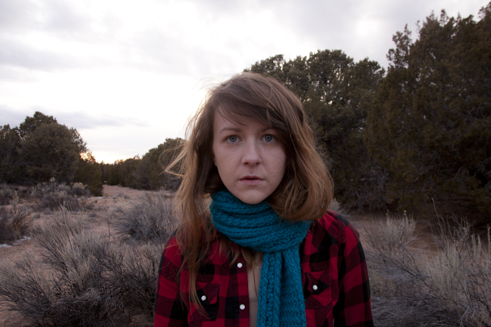 Self-portrait in the Land of Enchantment [February, 2013; Santa Fe, NM]