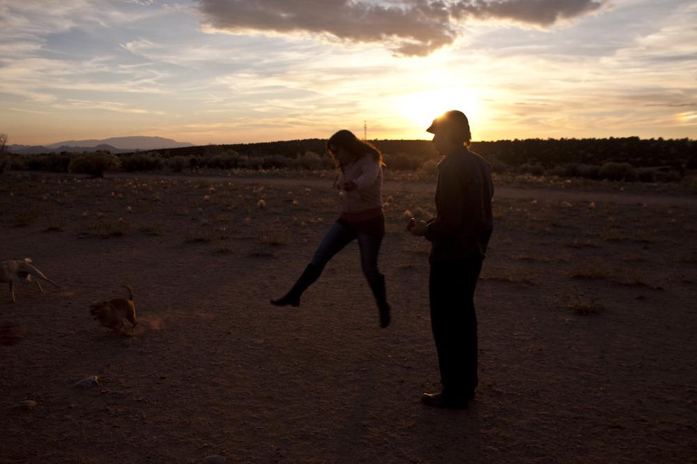 Life at the dog park is a good life. [November, 2012; Santa Fe, NM]
