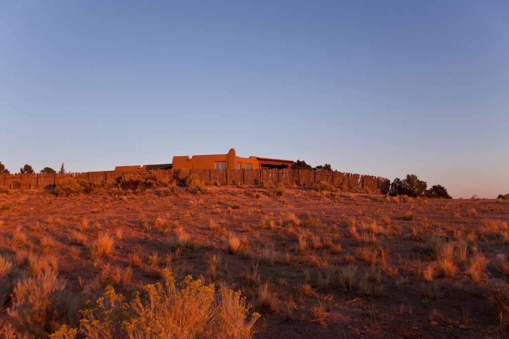 I've honestly never seen light quite like this.    [September, 2012; Santa Fe, NM]