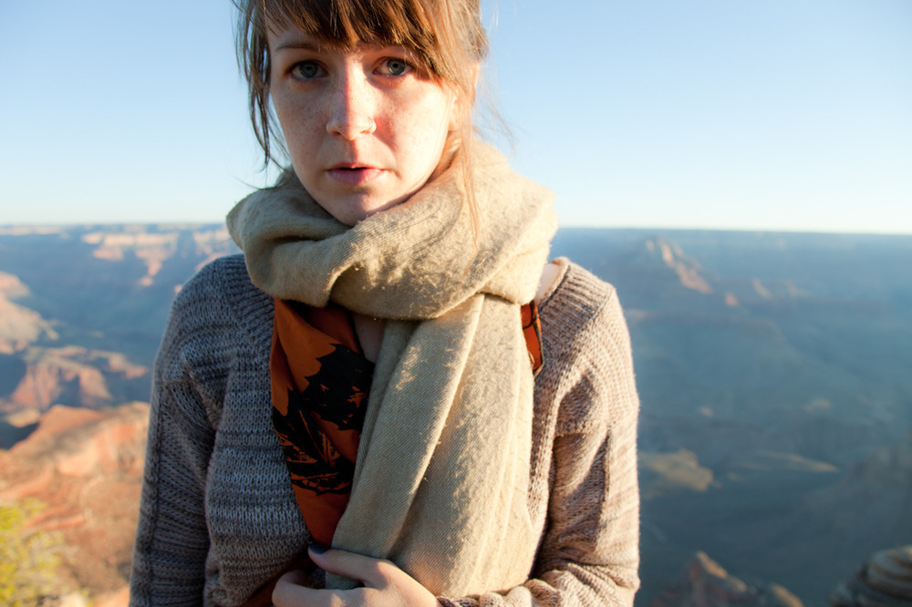 Self-portrait, Grand Canyon [from Scape;  September, 2011;  Grand Canyon National Park, AZ]