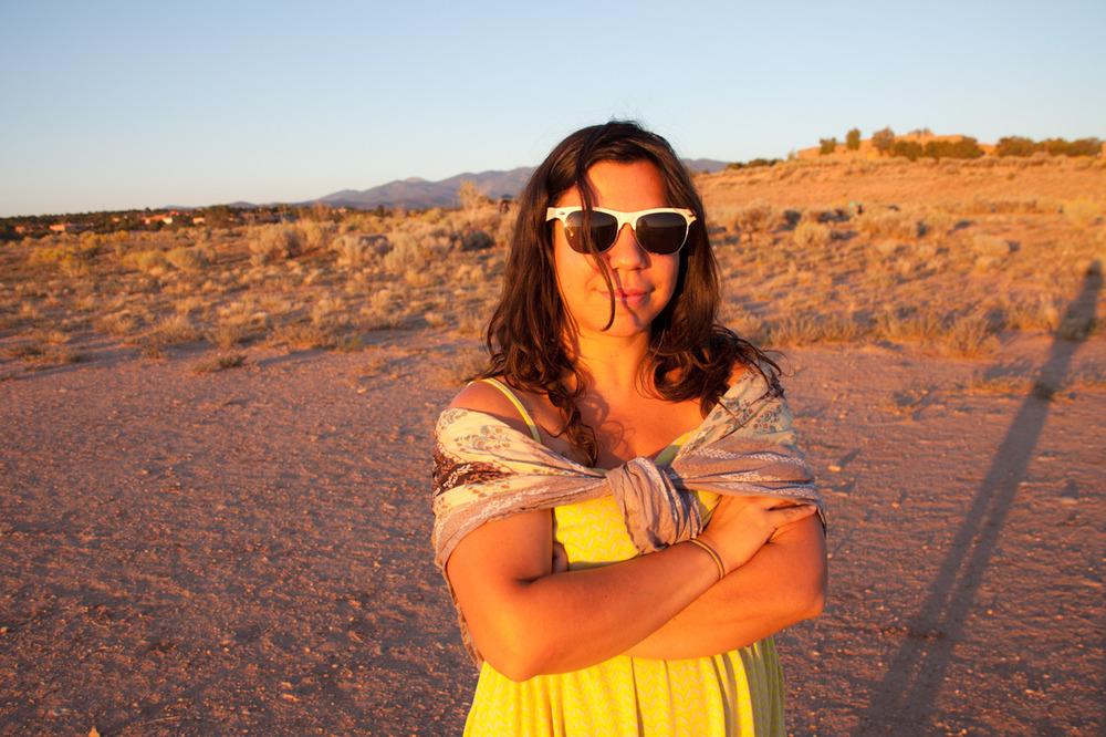 Pretty pretty Erin Azouz [September, 2012; Santa Fe, NM]