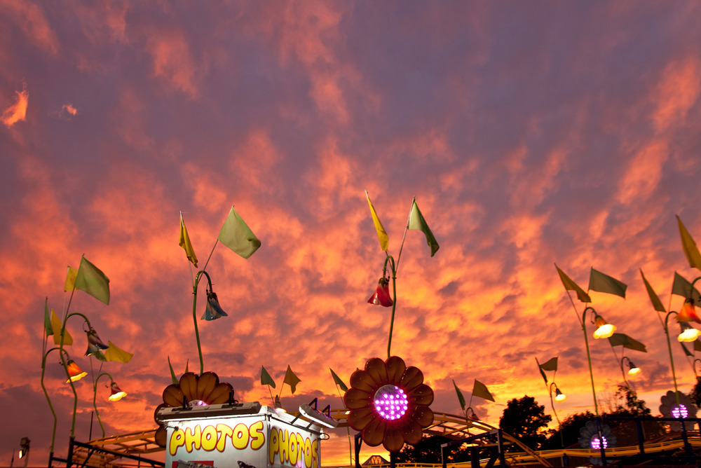 I went to the Ohio State Fair a couple weeks ago.  That was a weird experience.    [July, 2012;  Columbus, Ohio]