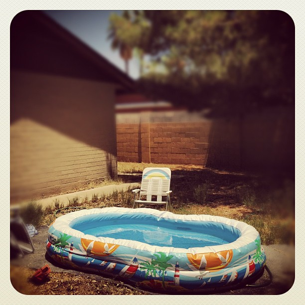 Pool; Phoenix, AZ (Taken with instagram)