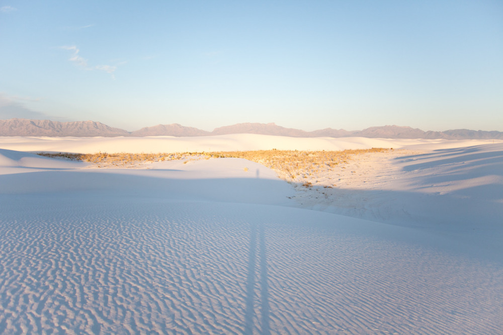 [from   Scape  ; September, 2011; White Sands National Monument, NM]    I told you guys I'd be posting a bombardment of newly discovered  Scape  photos.  Luckily, my editing is done.  Next you'll be seeing posts of the book-in-progress.  For now, goodnight.