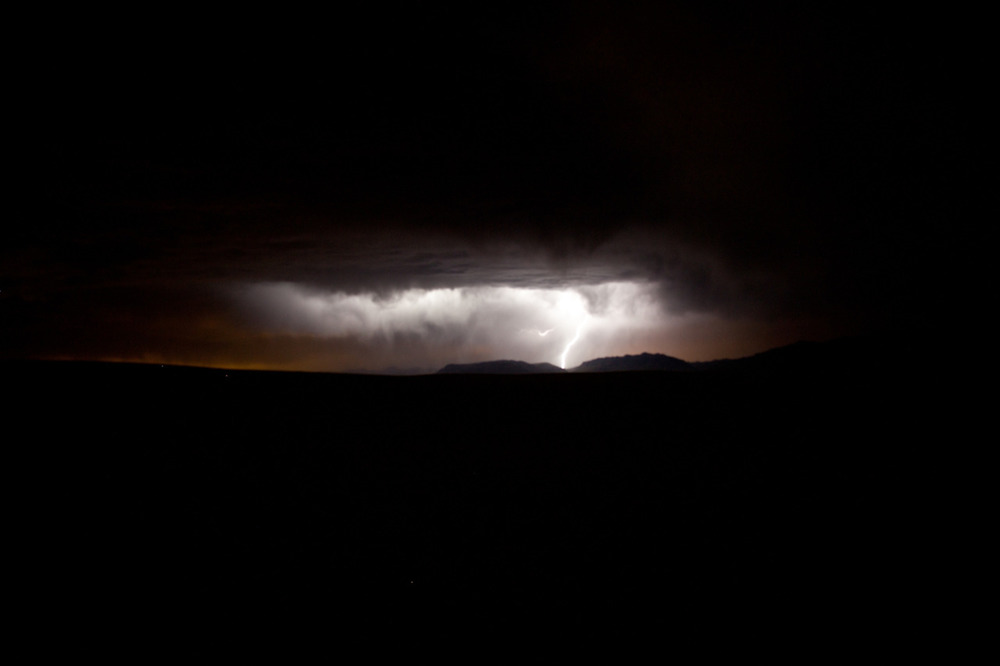 Lightning storm, White Sands (This was hands-down one of the most terrifying but most beautiful camping experiences I've had.) [from the archives; September, 2011; White Sands National Monument, NM]