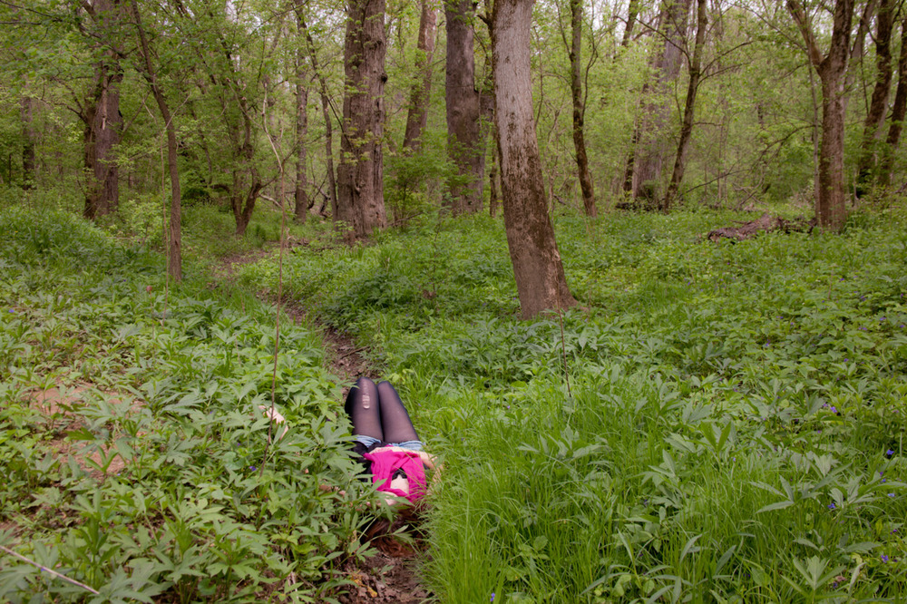 Forgetting about everything except this [April 17, 2012; Three Creeks Metro Park, OH]
