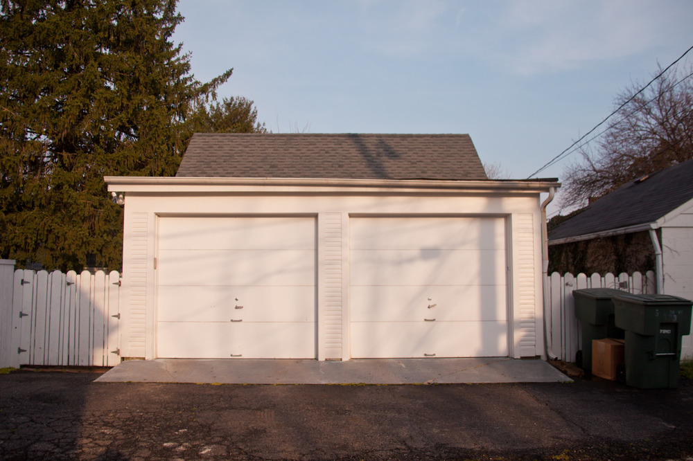 Garage, German Village   [March, 2012; Columbus, OH]