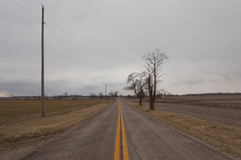 Obligatory Endless Road Photo     [March, 2012; Galloway, OH]