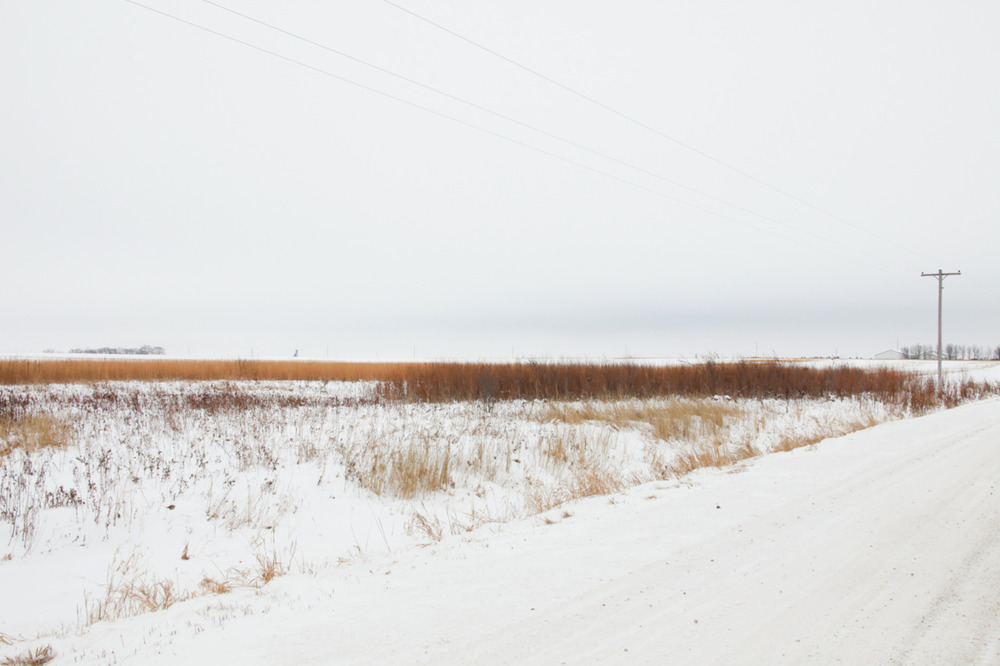 I miss South Dakota's landscape. [from the archives; Winter, 2010; Brookings, SD]