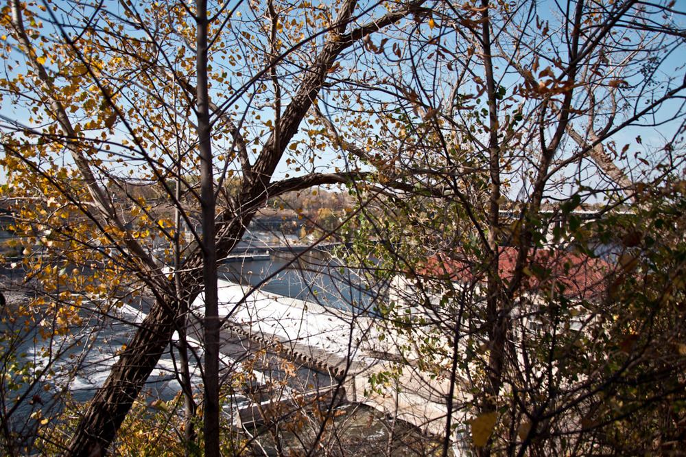 Mississippi River [from Scape; October, 2011; Minneapolis, MN]