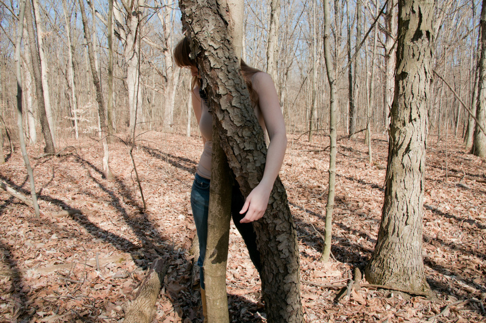 tree/self [February 27, 2012; Blendon Woods Metro Park, OH]