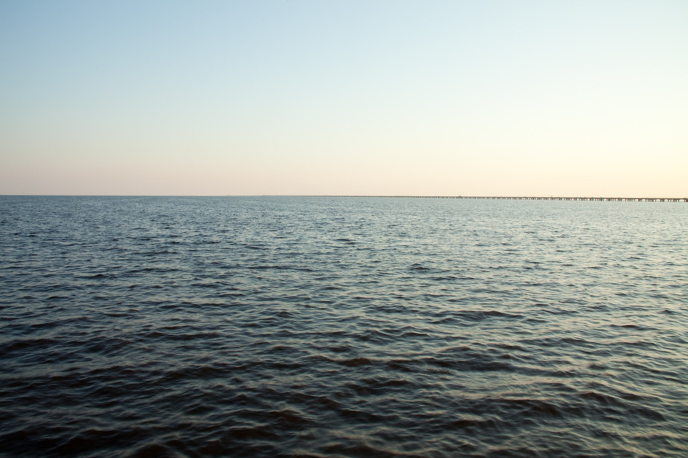 I often like to remind myself of such views.  They help propel me even when I'm feeling stagnant. [from Scape; September, 2011; Lake Pontchartrain, LA]