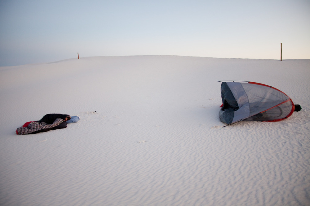 Morning [from my series Scape; September, 2011; White Sands National Monument, NM]