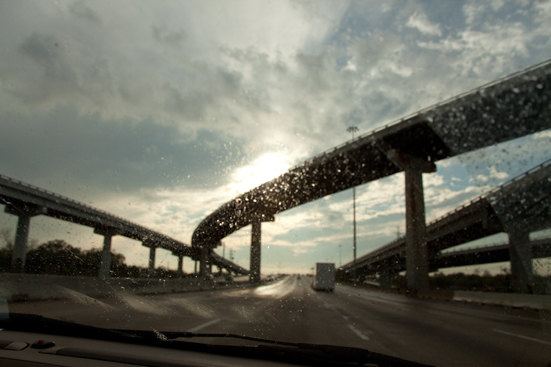 Interstates can be pretty   [September, 2011;  Just outside of Houston, TX]