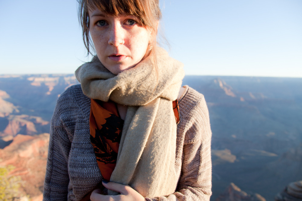 Self Portrait at Sunrise   [September, 2011;  Grand Canyon, AZ]