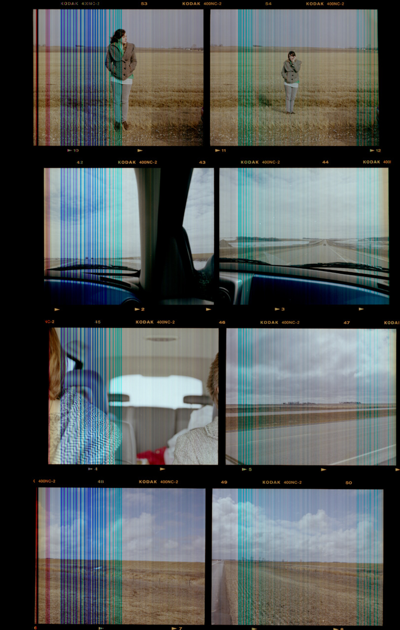 Sifting through old stuff on my hard drive is proving to be pretty interesting. Found here is a really crappy scan of one of my contact sheets from 2008. As it would turn out, two of my favorite photographs I've ever made are on this contact sheet. [from the long-forgotten archives;  Spring of 2008;  Brookings, SD]