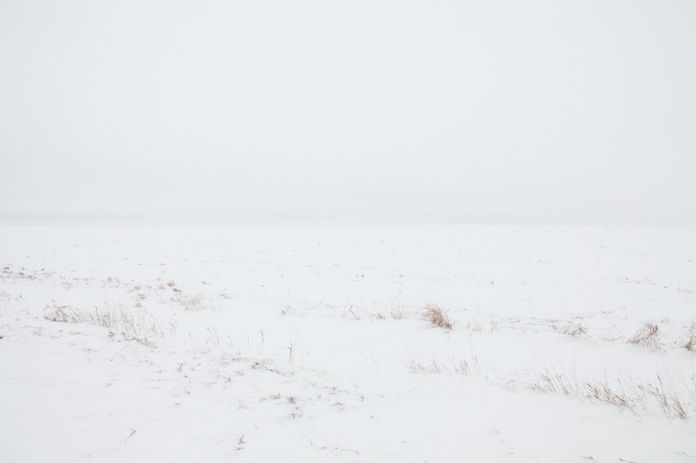 You couldn't even tell sky from ground. [from the archives;  December, 2010;  Brookings, South Dakota]