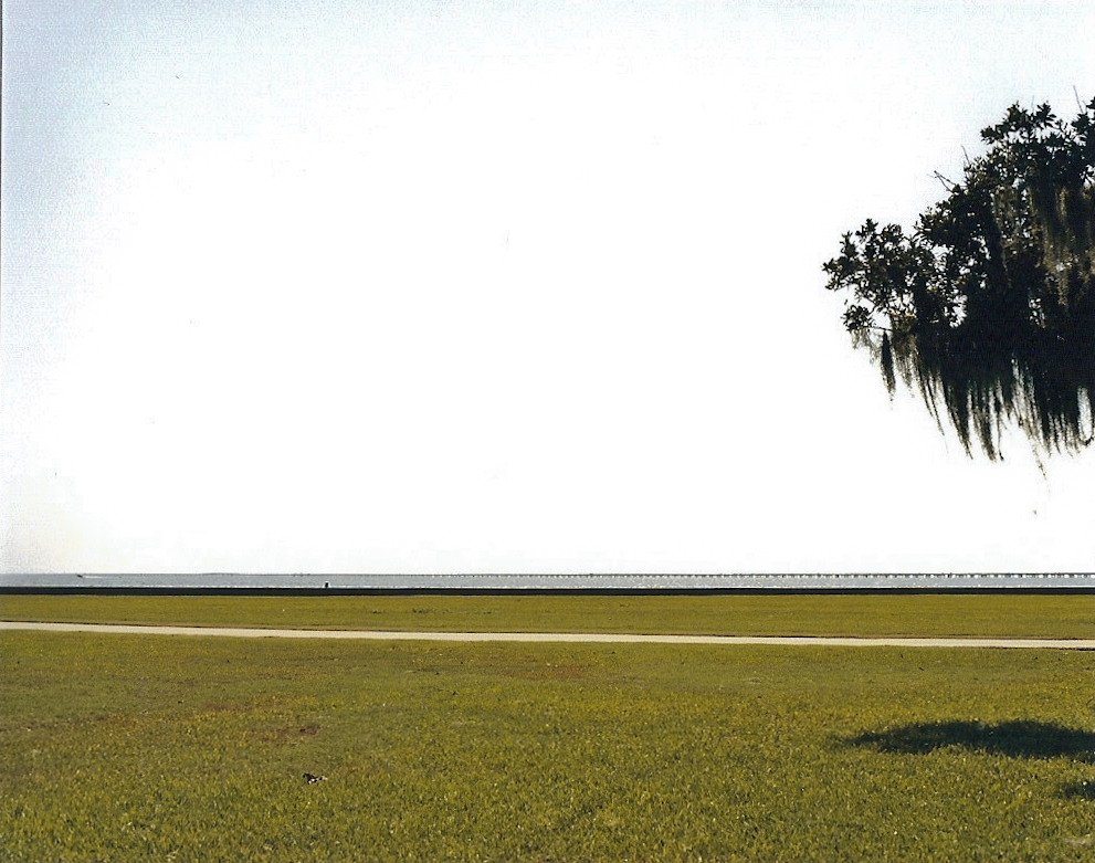 Lake Pontchartrain, Louisiana   [from my series   Scape  ; September, 2011]
