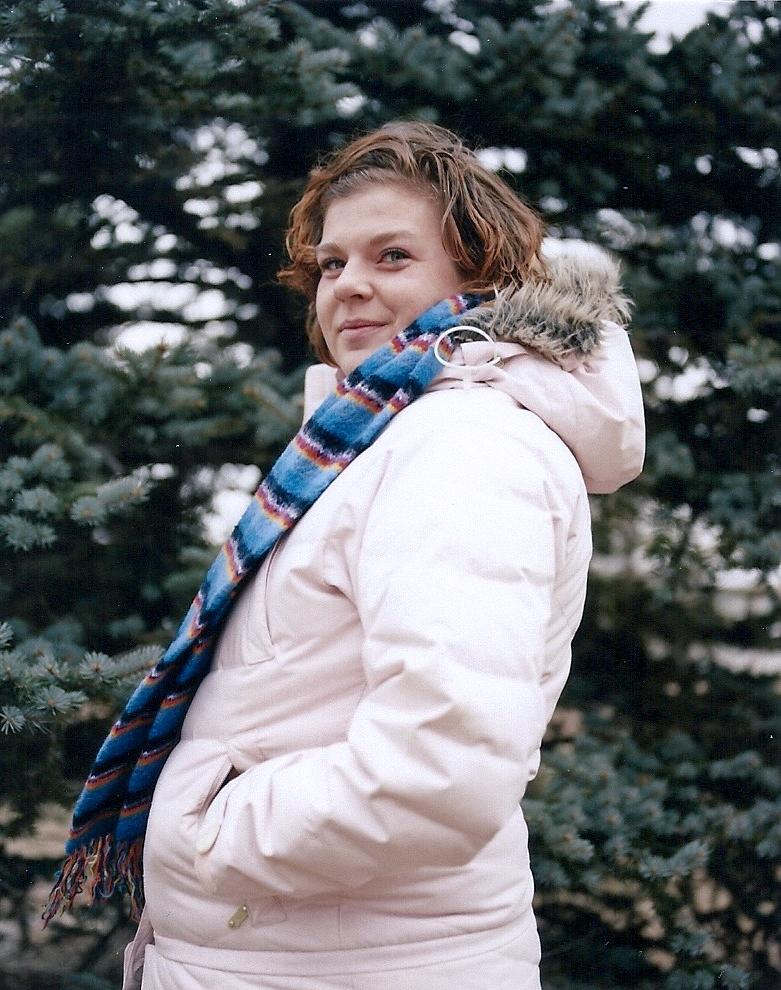 Rachel (my older sister)   [Bismarck, North Dakota; December 3, 2011]