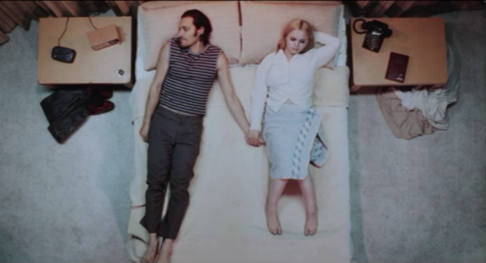 Still from Buffalo '66, directed by Vincent Gallo