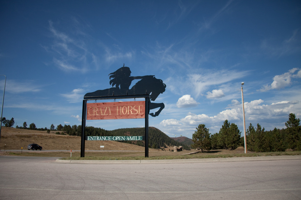 Crazy Horse Memorial, Black Hills, SD