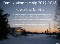 Kawartha Nordic Ski Club Membership