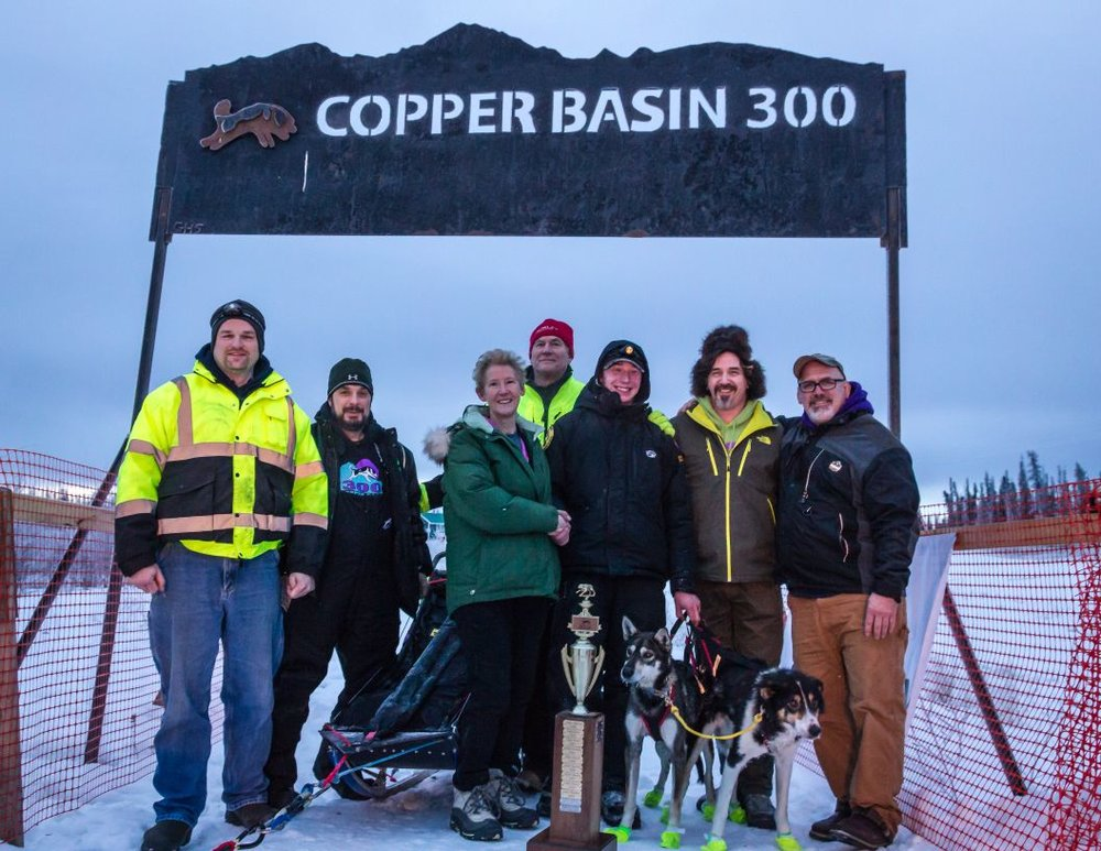 2016 - ACE 50 - 1stSolstice 50 - 1stCopper Basin 300 - 1stTwo Rivers 200 - 3rd      Yukon Quest 1000 - 4thAwards:Yukon Quest 1000 - Veterinarian's Choice Award